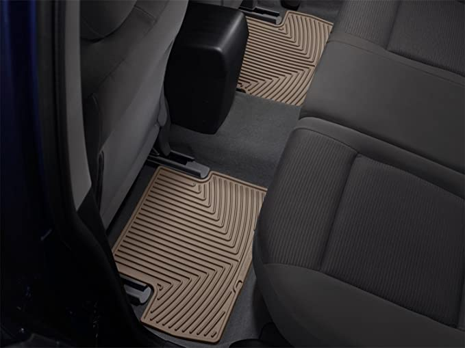 Floor Mat Black Rubber Rear WeatherTech W223