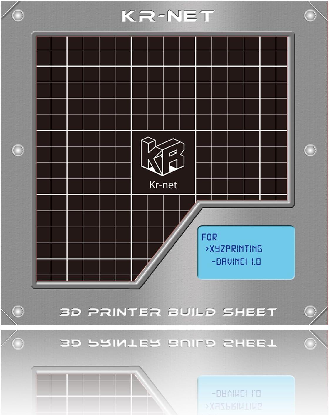 KR-NET para Impresora Adhesivo Adhesivo en 3D Hoja cuadrícula 7.8 ...