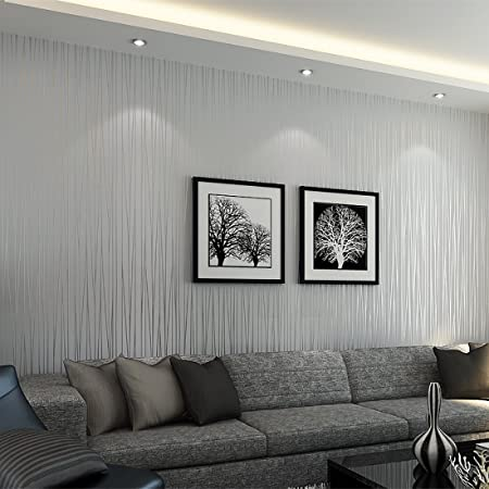Warmiehomy 10m X 0 53m Textured Non Woven 3d Wallpaper Walll