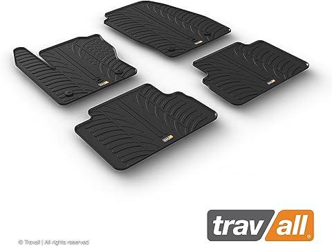 Travall Mats Gummifußmatten Kompatibel Mit Ford C Max 2015 2019 Trm1249 Allwettermatten Nach Maß Fussmatten Set Auto