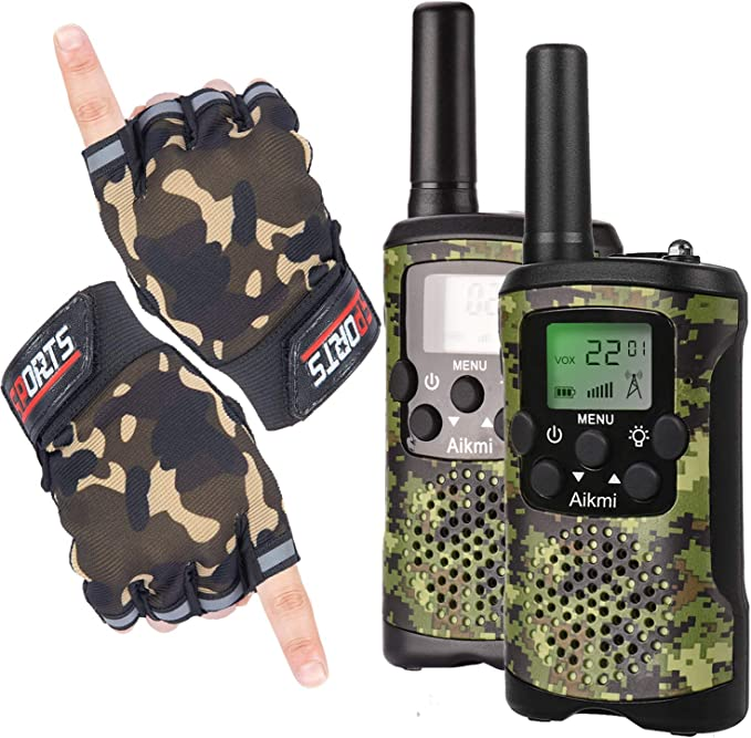 Pink+MC Pink CONNECOM Toys Two-Way Radio Boys /& Girls Age 4-12 Walky Talky for Children The Best Gift Kids Walkie Talkies