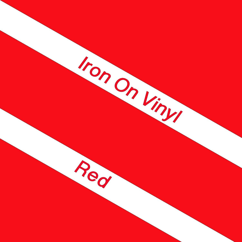 Papier De Transfert En Vinyle Souple Pour Vêtements à Repasser Rouge