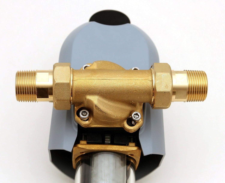 JUDO BIKO Hauswasserstation 1 R/ücksp/ül-Schutzfilter mit Druckminderer