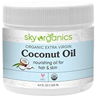 Sky Organics Coconut Body Oil 16oz