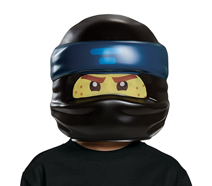 Máscara de LEGO Ninjago: La película, Jay (talla única ...