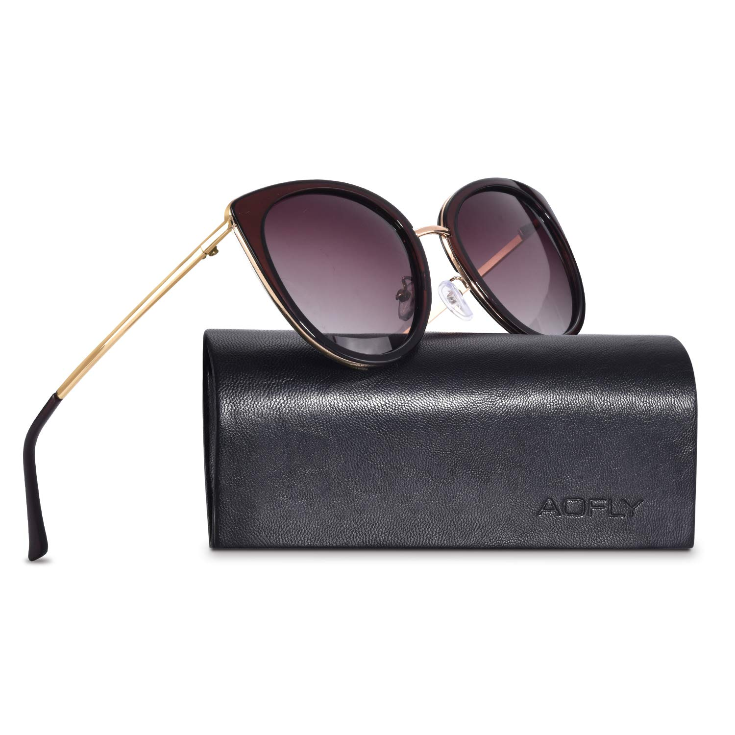 AOFLY Vintage Driving Polarised Sunglasses UV400 Protection Lenses For Women