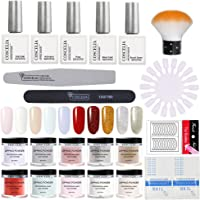 Dip Nail Powder Nail Starter Kit Acrylic Dipping System with Liquid Acrylic Powder for French Nail Manicure Set