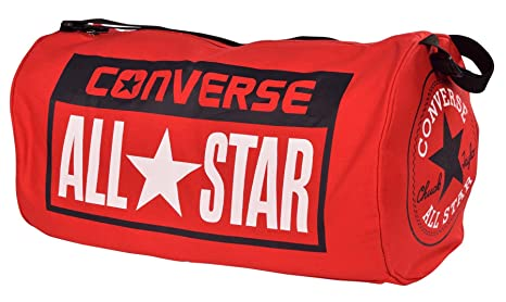 Image Unavailable. Image not available for. Colour  Converse Legacy All Star  Patch Duffle Duffel Bag-Red c1a5a5fc3c53f