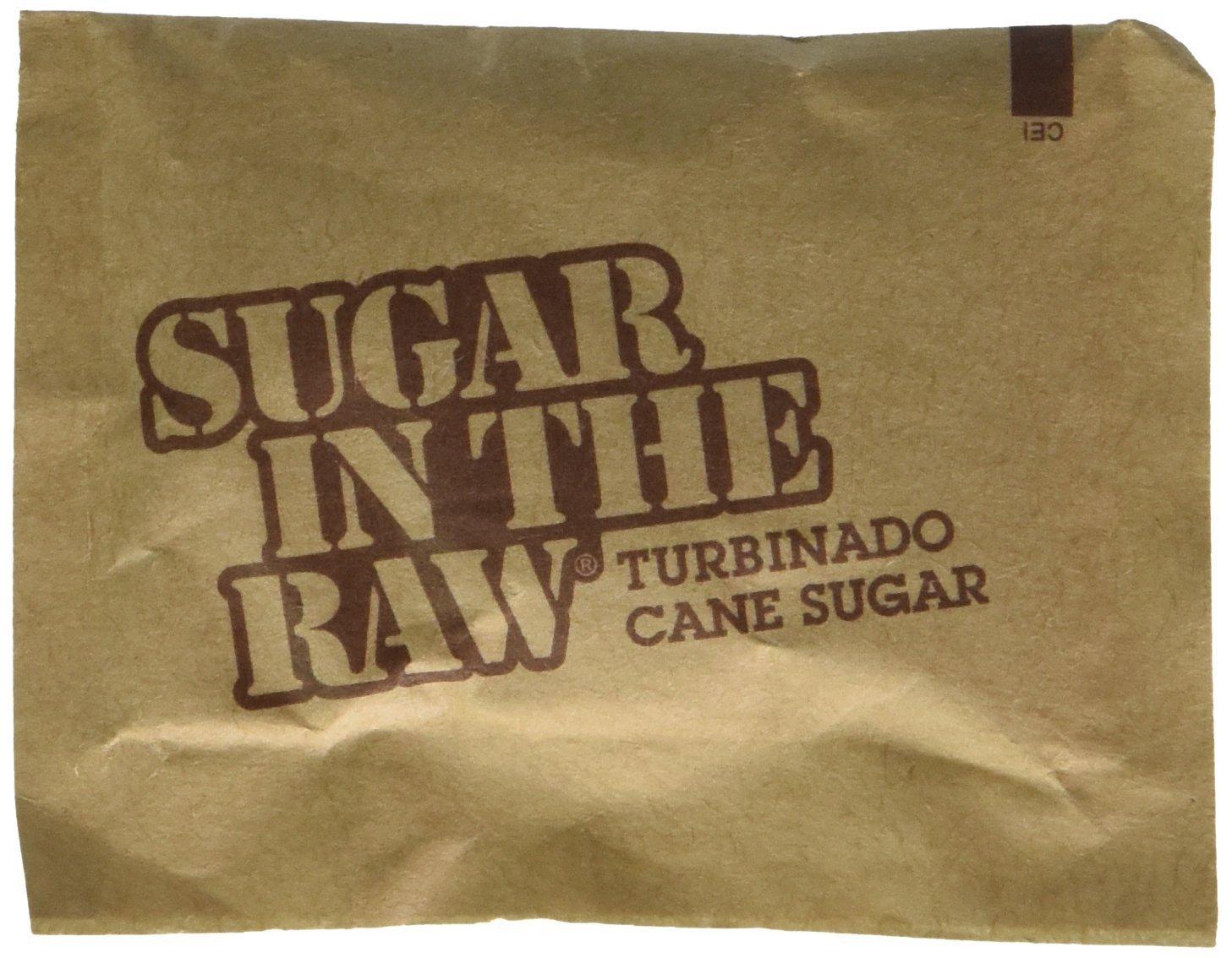 Sugar in the Raw/Raw Sugar Natural Cane Turbinado from Hawaii/Box of 250 packets
