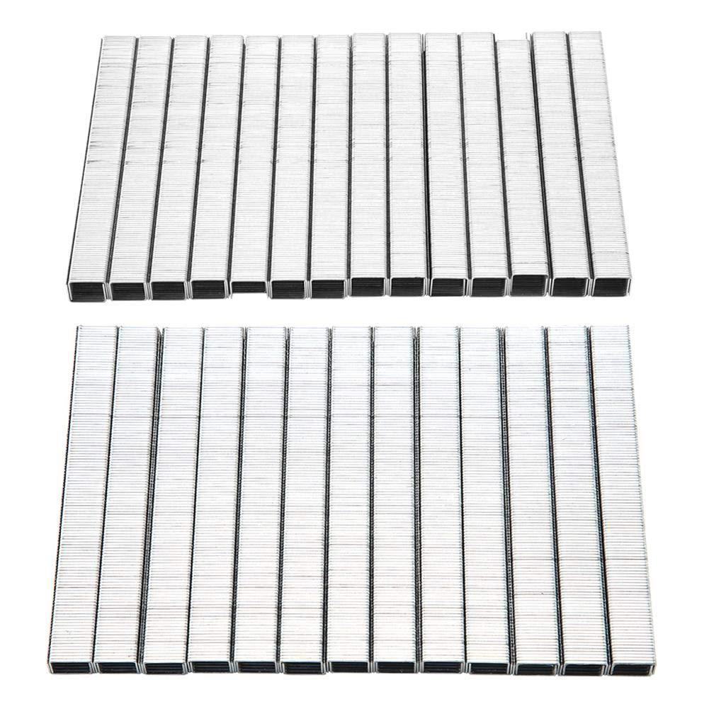 1010F 3250 piezas grapas en forma de U//puerta para trabajo pesado para grapadora el/éctrica y neum/ática con grapadora de pistola 1008F 1008F