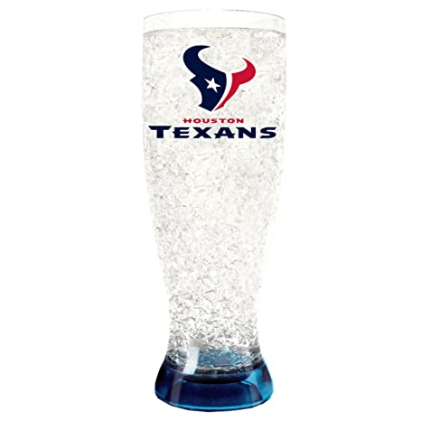 067d7beacfd Amazon.com   NFL Houston Texans 16oz Crystal Freezer Pilsner   Beer ...