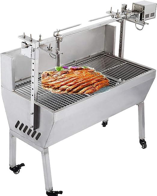 Amazon.com: VEVOR Rotisserie parrilla asador para barbacoa ...