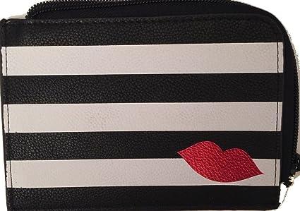 Sephora blanco y negro de maquillaje bolso de la bolsa Rayas Rayas: Amazon.es: Belleza