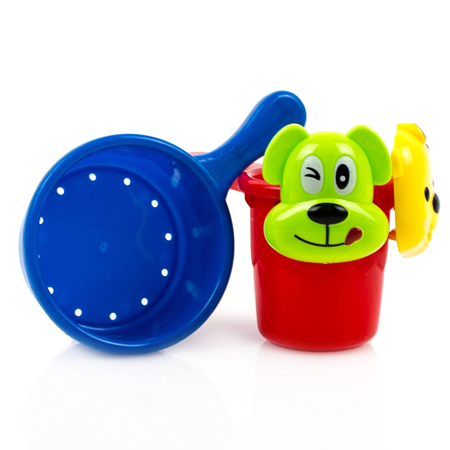 Amazon.com: Toysery Baby Bath Toys- Fill, Flow, Spin Bath Toys Set ...