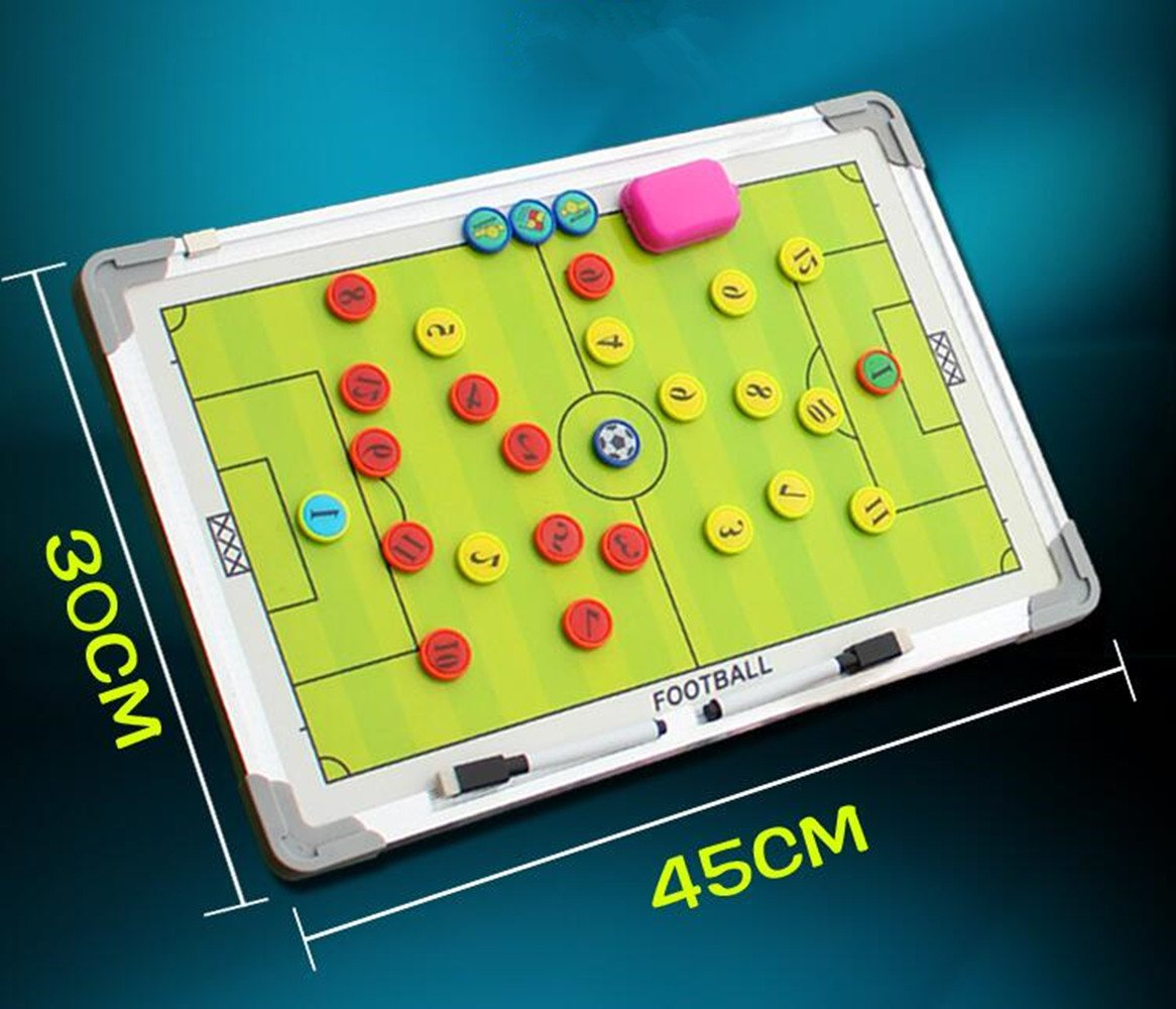 Hanging Football Tactics Board Soccer Coaching Board With Magnetic Pen LT