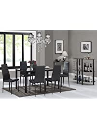 7 piece kitchen dining table set