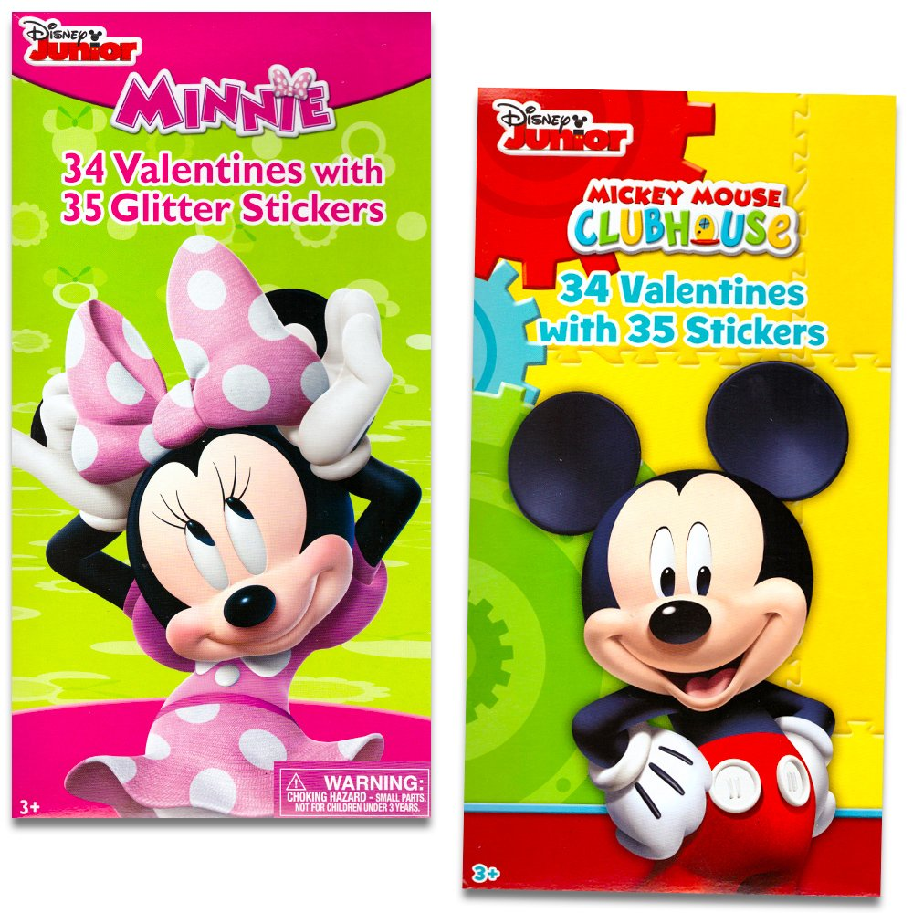 Amazon Disney Mickey Mouse and Minnie Mouse Valentines Day – Minnie Mouse Valentine Cards
