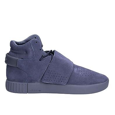 100% authentic f5d76 2cffb adidas Herren Tubular Invader Strap Hohe Sneaker