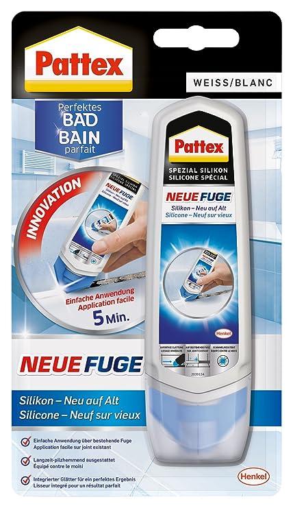 Pattex Pn12g Fuge Silikon Neu Auf Alt Fugenmasse Komfortabel Und