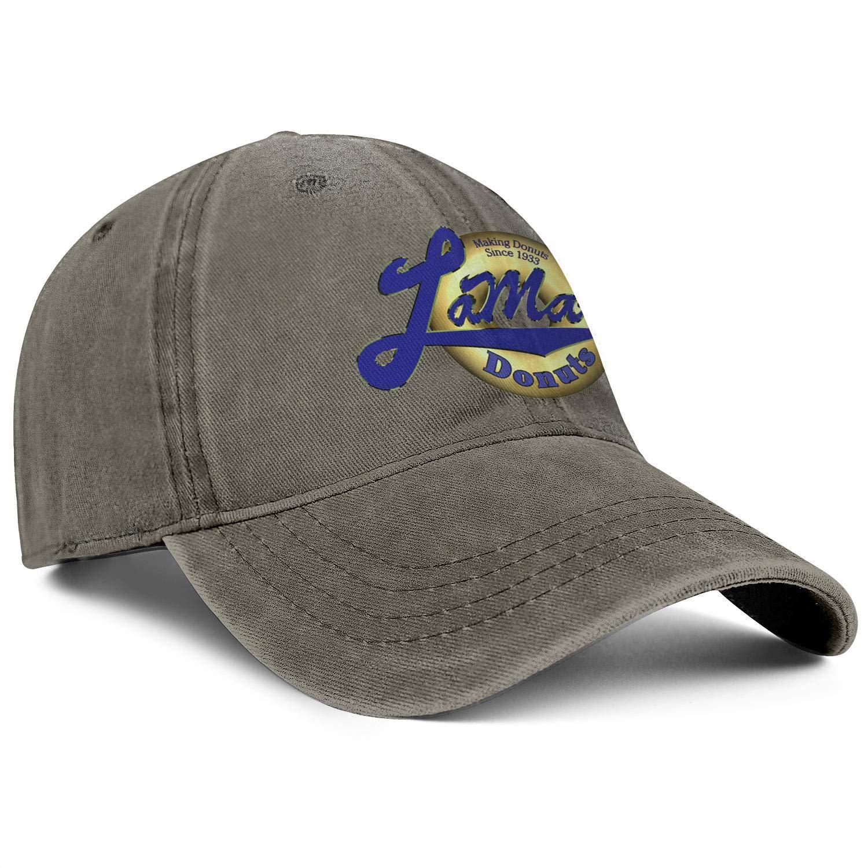 ChenBG Unisex LaMars Donuts Logo Adjustble Baseball Cap Gas Cap Mesh Cowboy Hat