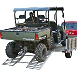Rage Powersports ATF-6264 65' Wide Ride Master Arched UTV Trailer Loading Ramp