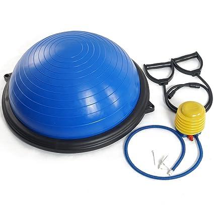 amazon com excellent product blue yoga half ball balance traineramazon com excellent product blue yoga half ball balance trainer 23\