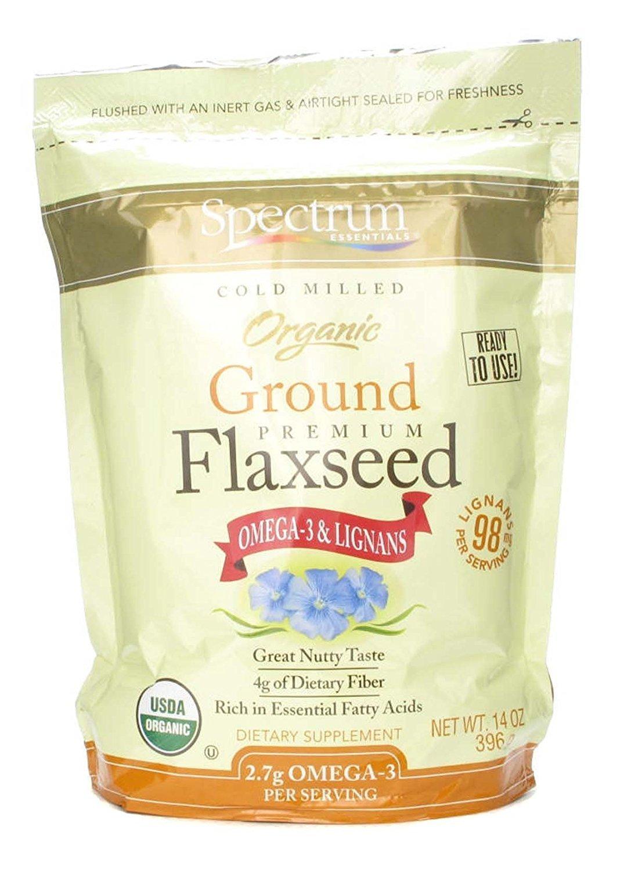 Spectrum Organic Ground Flaxseed -- 14 oz