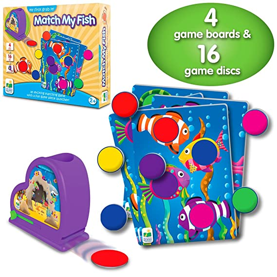 Amazon.com: The Learning Journey My First Grab It! - Animal Match - An Exciting Matching Game: Toys & Games