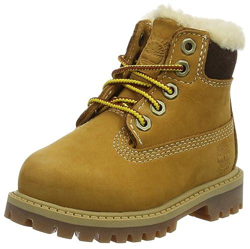 6 Boot wheat In 26 Eu Beige Unisex Botas Classic 231 Waterbuck Timberland Niños Clasicas dt4wUdq