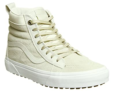 cement-birch sk8-hi mte - fleece lined vans