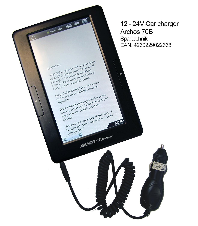 12 V Cargador de coche Archos 70B E-book. Auto especial y camión ...