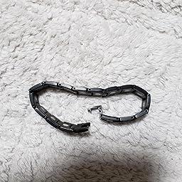 Amazon 磁気ブレスレット チタンブレスレット Ebuty メンズ ステンレス製 ゲルマニウムブレスレット 一年間返金 返品保証 静電気除去 睡眠に良い ファッション 肩こり解消 ブラック 磁石 オシャレ 金属アレルギーフリー 父の日のプレゼント サイズ調整工具が付き