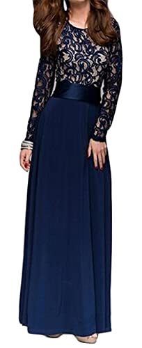 Yayu Women's Backless Cocktail Long Party Gown Maxi Dress
