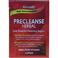 Detoxify PreCleanse Herbal Supplement – 6 Capsules | Professionally Formulated PreCleanse Herbal Supplement | Perfect Start to Your Cleansing Program