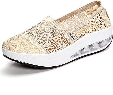 Donna Scarpe Con Plateau Comode Mocassini Sneaker Sandali Slip-On Mocassini Casual