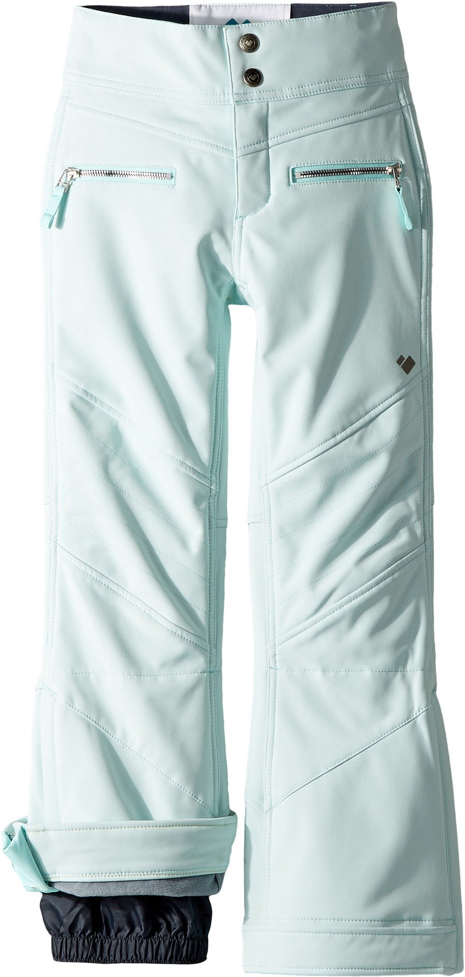 Obermeyer Kids Girl's Jolie Softshell Pants (Little Kids/Big Kids) Seaglass X-Large by Obermeyer Kids