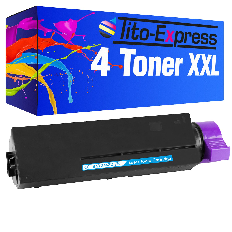 Tito-Express Platinum Serie 3 Cartuchos de tóner XXL compatibles ...
