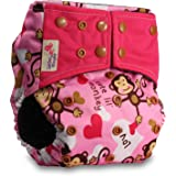 Close Pop-in 228175 Cloth Diapers with Bamboo Suction pad Rockets