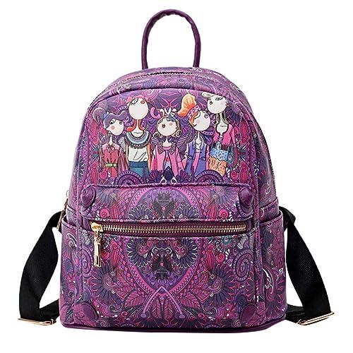 Sylar Sencillo Vida Bolsos Mochila Mujer Bolsos Fiesta Mujer Bolso De Viaje Forest Casual Backpack Bolso Mochila Diagonal Estudiante: Amazon.es: Zapatos y ...