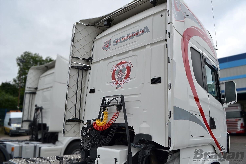 Bragan camión específica mano pulido acero inoxidable Kit de viento perímetro LED tiras de luces: Amazon.es: Coche y moto