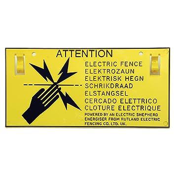 Rutland señales de advertencia (X5): Amazon.es: Jardín