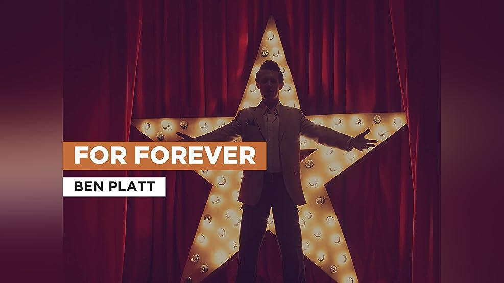 For Forever in the Style of Ben Platt