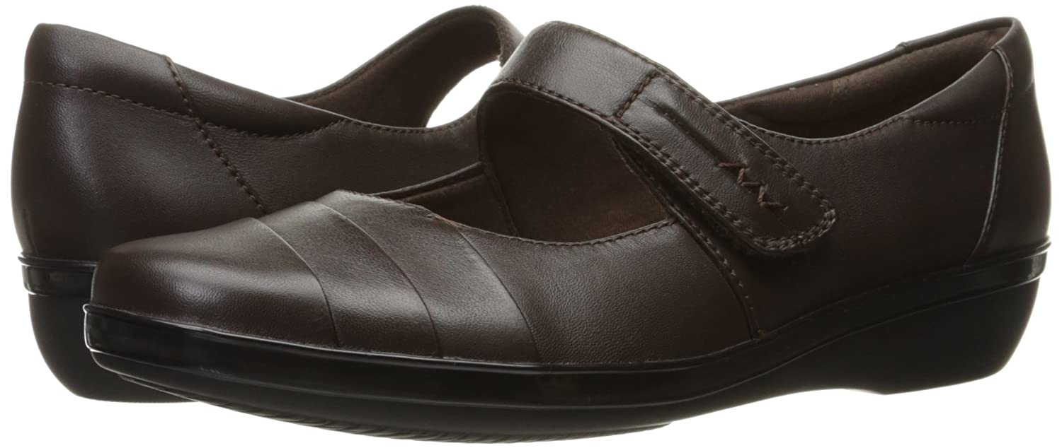 Clarks Damens's Everlay 11 Kennon Mary Jane Flat, Braun Leder, 11 Everlay N US 3f9786