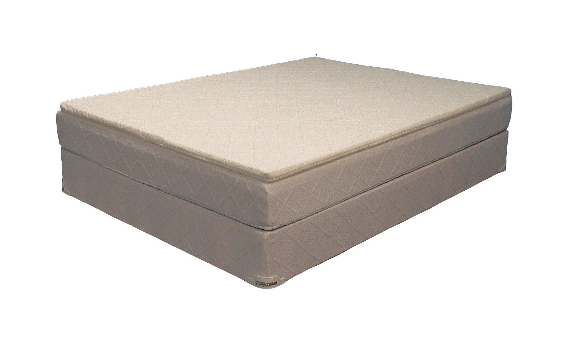 Strobel Organic Complete Softside Waterbed Futura-1-1/2 King Dual by Strobel Organic