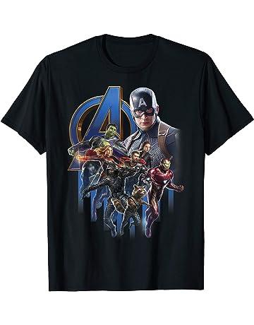 736d99b12 Marvel Avengers Endgame Group Poster Logo Graphic T-Shirt