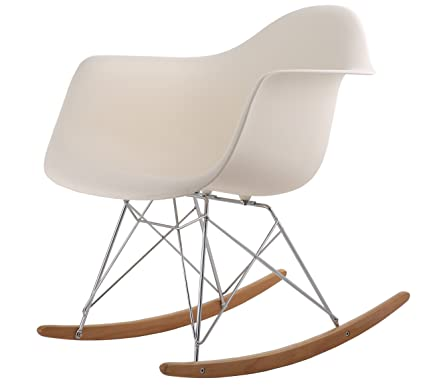 Amazon.com: HNNHOME inspirado en Eames RAR Lounge Retro ...