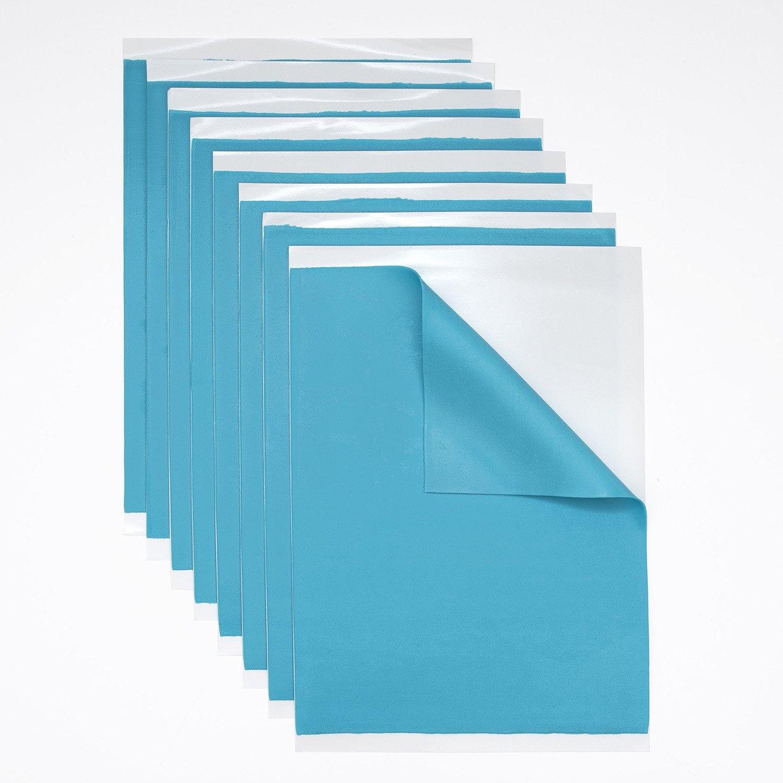 Solid Light Blue Fondant Sheets