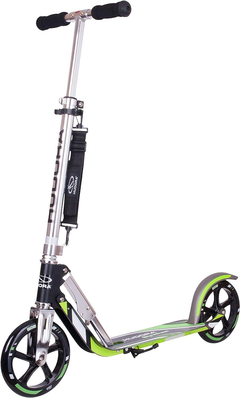 Hudora 14695 Big Wheel GS 205 - Patinete, color verde neón