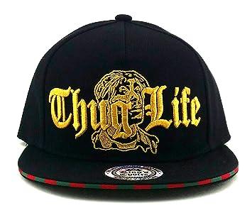 Kings Choice New Legend Thug Life - Gorra, Color Negro y Dorado ...