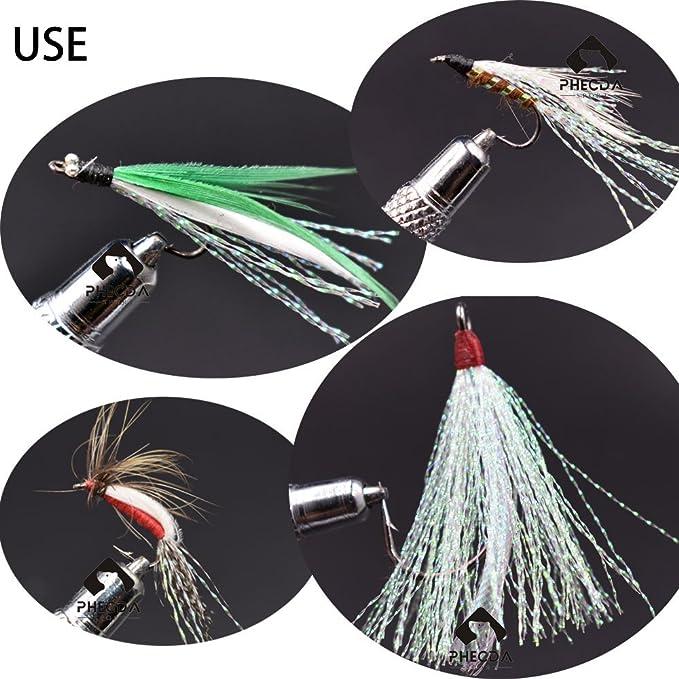 200pc Crystal Flash Fly tying material Krystal Fishing Lure Tying Making~ JMPU/_X